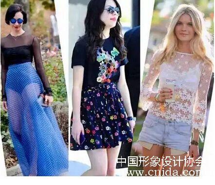 中国形象设计协会女士穿衣