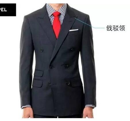 形象管理男士西装领型的选择